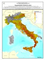 Mappa classificazione sismica in pdf