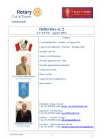 N.2 Agosto 2014 - Rotary Club Trapani