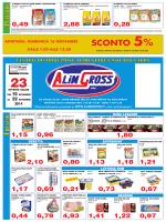 sconto 5% - ALIMGROSS SpA