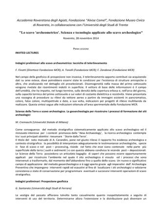 Abstract - Accademia Roveretana degli Agiati