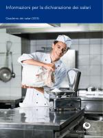 Informazioni per la dichiarazione dei salari 2015