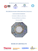 "BOOK OF ABSTRACTS - Dipartimento di Chimica ""G. Ciamician"""