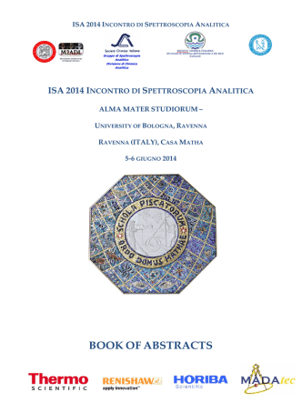 BOOK OF ABSTRACTS - Dipartimento di Chimica