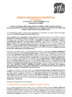 Martedì 24 Giugno - Emilia Romagna Festival