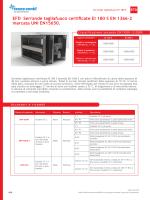 EFD Serrande tagliafuoco certificate EI 180 S EN 1366