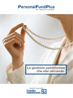 Linee di Investimento - Gruppo bancario Credito Valtellinese