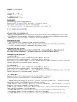 Morana Claudio - Università degli Studi di Milano