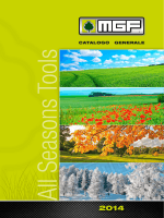 Catalogo generale MGF 2014
