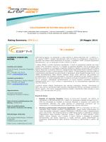 """""""B+/stabile"""" - CRIF Rating Agency"""
