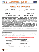 Brochure informativa - Pesaro Sport Events