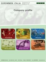 Company profile - Euroimmun Italia