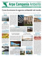 Magazine Arpa Campania Ambiente n. 13 del 15 luglio 2014