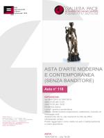 Galleria Pace - Catalogo PDF Asta 118