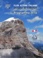 Programma 2015 - Cai Codroipo