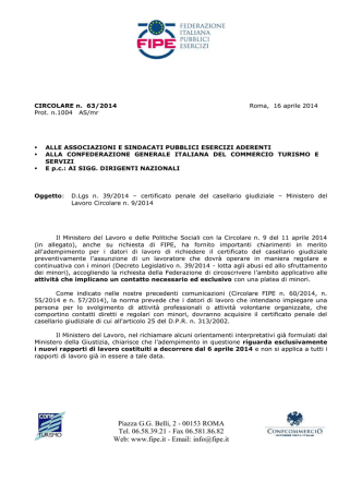 CIRCO 63-14 - dlgs 39_2014_Circolare MDL