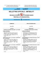 Bollettino n. 52 del 29 dicembre 2014