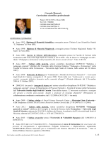 1-13 Corrado Muscarà Curriculum scientifico