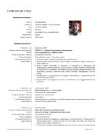 Il Curriculum di Gianpietro Calai