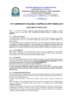 Regolamento - FIPSAS Benevento