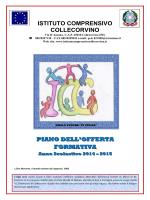POF 2014 - 2015 - Istituto Comprensivo di Collecorvino