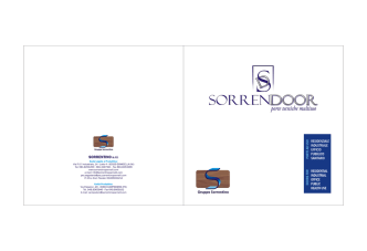 Catalogo SorrenDoor - sorrentinopannelli