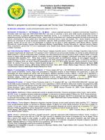 Attività 2014 - Tennis Club Trebaseleghe
