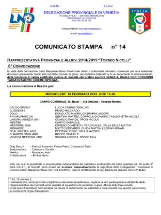 COMUNICATO_stampa 14