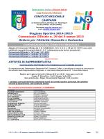 C.U. S.G.S. n. 39 del 5.03.2015