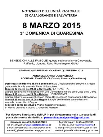 8 MARZO 2015 - salvaterra.it