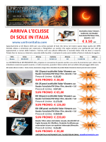 ARRIVA L`ECLISSE DI SOLE IN ITALIA