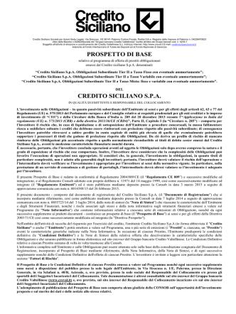 CS -Prospetto di Base -