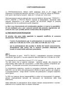I FATTI VOSTRI 2014-2015 La RAI-Radiotelevisione Italiana