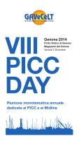 Scarica programma definitivo VIII PICC Day