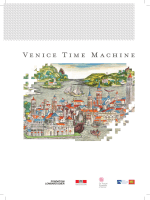 Venice Time Machine Brochure