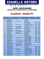 Elenco iscritti AH2014