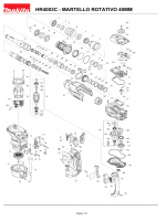 HR4003C - MARTELLO ROTATIVO 40MM