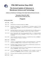 ITM Seminar Days 2014_program_updated - ITM-CNR
