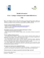 Modulo informatico - Università degli Studi del Piemonte Orientale