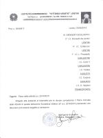 """Piano delle Attività a.s.2014-15 - 1° Istituto Comprensivo """"Vittorio"""