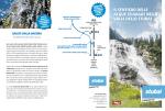 il sentiero delle acque selvagge nella valle dello stubai