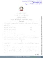 scarica la sentenza - Giurisprudenza delle imprese