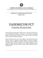VADEMECUM PCT - Pubblica amministrazione di qualità