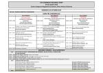 Time Table Programma Preliminare