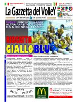 La Gazzetta del Volley in formato pdf