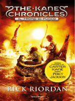 The Kane Chronicles – Il Trono Di Fuoco