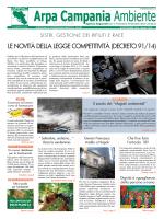 Magazine Arpa Campania Ambiente n. 18 del 30 settembre 2014