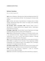 Curriculum vitae Salvatore Dr Sansalone