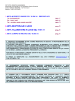 Bollettino aste 16/18.04 - Istituto Vendite Giudiziarie di Venezia
