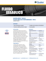 quintolubric® 888-68 fluido idraulico ininfiammabile hfd-u
