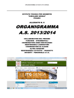 ORGANIGRAMMA A.S. 2013/2014